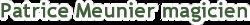 Patrice Meunier le magicien Logo